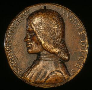Niccolò Fiorentino, 'Lorenzo de' Medici, il Magnifico, 1449-1492 [obverse]', ca. 1490