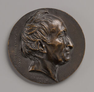 Pierre-Jean David d'Angers, 'Pierre-René Choudieu', 1832