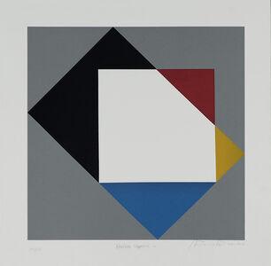 Antonio Peticov, 'Double Square C', 2016