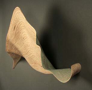 Nancy Sansom Reynolds, 'un.furl - green twist', 2013
