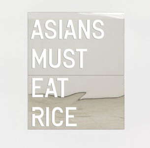 Rirkrit Tiravanija, 'untitled 2018 (asians must eat rice)', 2018