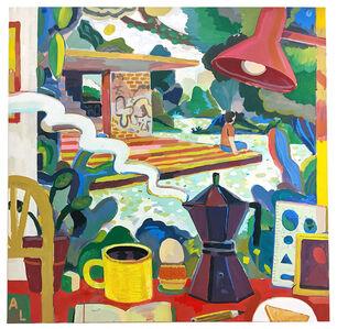 Andrés Lozano, 'Continental Breakfast', 2020