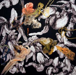 Angel Ricardo Ricardo Ríos, 'Pintura Negra', 2018