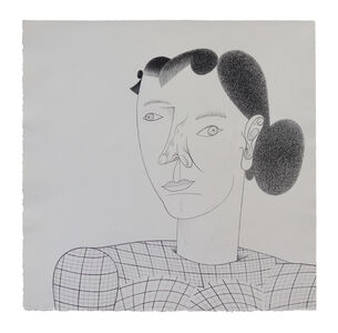 Jim Nutt, 'Tweed', 2005