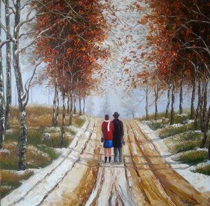 Liu Yi 刘艺, 'Stroll in autumn', 2007