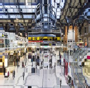 Asaf Gam Hacohen, 'Liverpool Street Station 18:32', 2018
