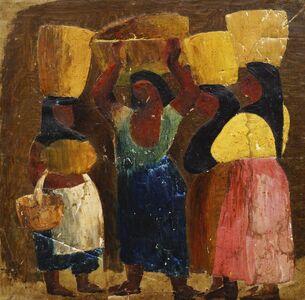 John Rattenbury Skeaping, 'Mexican figures', c. 1949-50