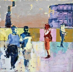 Dan Parry Jones, 'Torre de Cleriges Porto', 2017