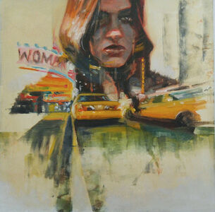 Steven Walker, 'man hatten woman', 2017