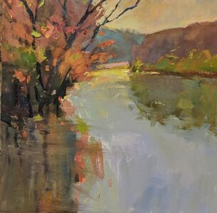 Millie Gosch, 'Early Spring on the River', 2019