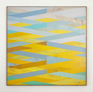 Sunny Taylor, 'Weave with Yellow & Aqua', 2016