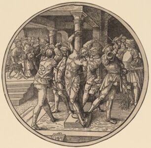 Jacob Cornelisz van Oostsanen, 'The Flagellation', 1514