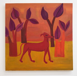 Sophie d'Ansembourg, 'Untitled (The red dog)', 2018