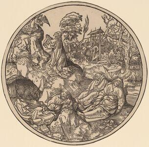 Jacob Cornelisz van Oostsanen, 'Christ on the Mount of Olives', 1512