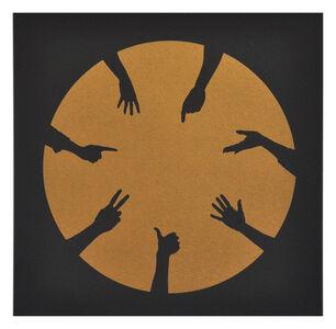 Nicola Green, 'Circle of Hands I', 2013