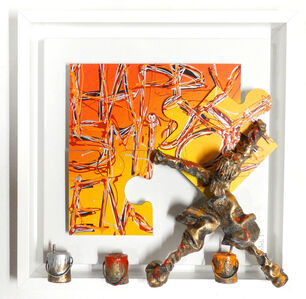 Bernard Saint Maxent, '(ATH) Happy Jigsaw', 2017
