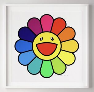 Takashi Murakami, 'Smile On, Rainbow Flower!!', 2020