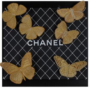 Stephen Wilson, 'Chanel Gilt Butterflies', 2019