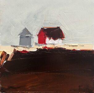 Sandra Pratt, 'Red & White Barn', 2019