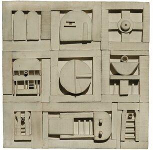 Manuel Pailós, 'Construcción blanca', 1972