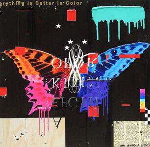 """Mark Andrew Allen, '""""Butterfly""""', 2017"""