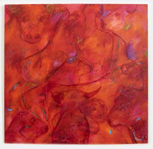 Sheila Isham, 'Cosmic Earth 341 (Bull Series XXII)', 1990