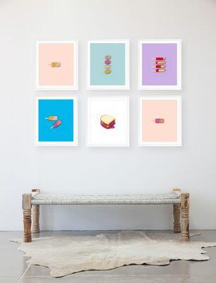 NEW! Kimberly Genevieve Glitter Diet Series, installation view