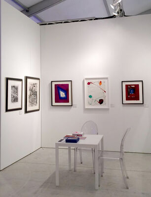 Gilden's Art Gallery at Art Miami 2019, installation view