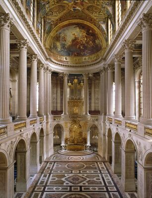 Charles de La Fosse, the triumph of color, installation view