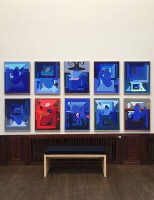 V1 Gallery at Market Art Fair 2018, installation view