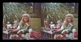 Study Of Georgia Engelhard, IV with Dolls