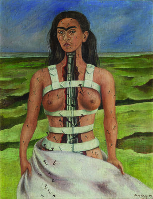 """""""Frida Kahlo. Paintings and drawings from Mexico's collections"""", installation view"""