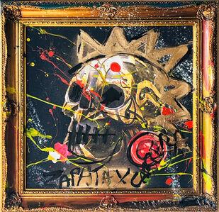 Domingo Zapata, 'Skull's and Colors', 2020