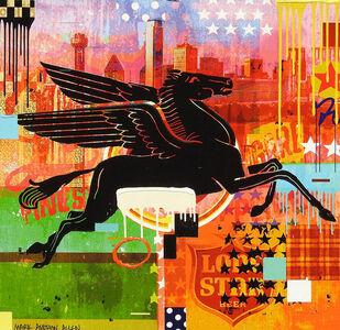 "Mark Andrew Allen, '""Dallas Pegasus""', 2018"