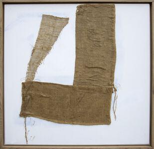 Sandra Blow, 'Hessian on White, 2006', 2006