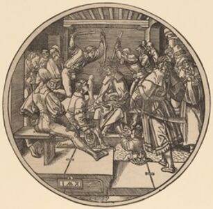 Jacob Cornelisz van Oostsanen, 'Christ Crowned with Thorns', 1511