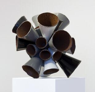 James Angus, 'Grayscale Pipe Burst', 2015