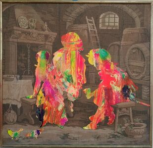 Bruno Miguel, 'Bohemian pictorial narratives', 2018