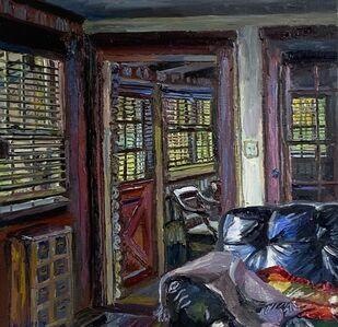 Melissa Scott-Miller, 'Inside the Artist's Cottage, Keeneland', Contemporary