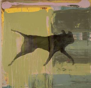 Holly Roberts, 'Black Dog Running', 2017
