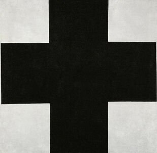 Kasimir Severinovich Malevich, 'Black Cross', 1923