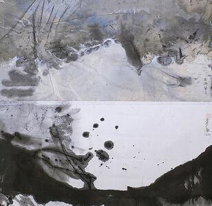 Lan Zhenghui, 'Full Moon at West Lake S026', 2019