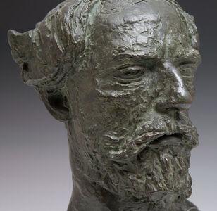 Jacob Epstein, 'Augustus John', 1916
