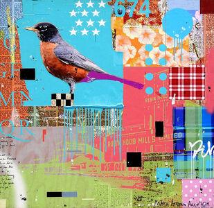 """Mark Andrew Allen, '""""Spring Robin""""', 2017"""
