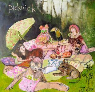 Juliane Hundertmark, 'Picknick', 2018