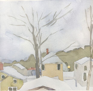 Sara MacCulloch, 'Winter Rooftops', 2017