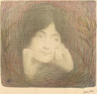 Edmond Aman-Jean, 'Mlle Moréno de la Comédie-Française', 1897