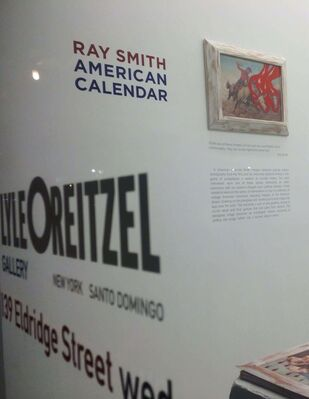American Calendar, installation view