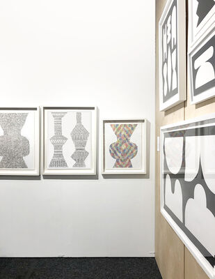 Uprise Art at Art on Paper 2020, installation view