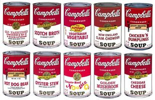Andy Warhol, 'Campbell's Soup Suite, Series II (Sunday B. Morning), 10 Limited Edition Silkscreen Artworks', 2015